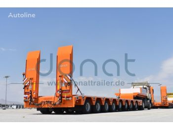 DONAT 8 axle lowbed with hydraulic Gooseneck - Heavy Duty - نصف مقطورة بلودر منخفض