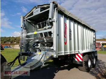 Fliegl ASW 271 C FOX 35 m³ Top Lift Laderaumabdeckung - مقطورة رزاعية