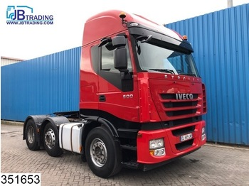 Iveco Stralis 500 6x2, AS, Manual, Retarder, Adjustable Dish (3.5) Inch / Duim, Airco - مقطورة السحب