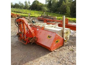 LOT # 0507 -- NC Hydraulic Sweeper Collector to suit 3 Point Linkage - مقشة