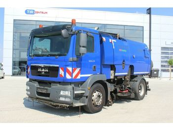 MAN TGM 18.290 4x2 BL,SWEEPER, ADDITIONAL WATER TANK  - شاحنة كنس هوائي