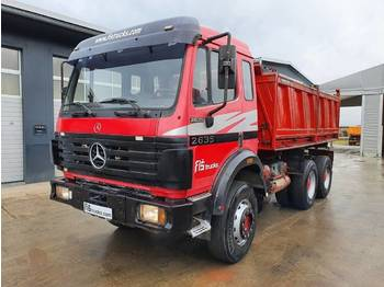 Mercedes-Benz SK 2635 K 6X4 MEILLER TIPPER - big axle - شاحنة قلاب