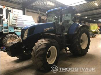 New Holland T7040 - جرار بعجل