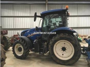 New Holland t 6.155 ac - جرار بعجل