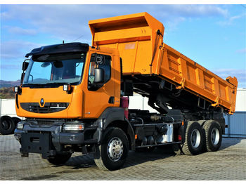 Renault  KERAX 410 DXI Kipper 5,20m+BORDMATIC*6x4*  - شاحنة قلاب